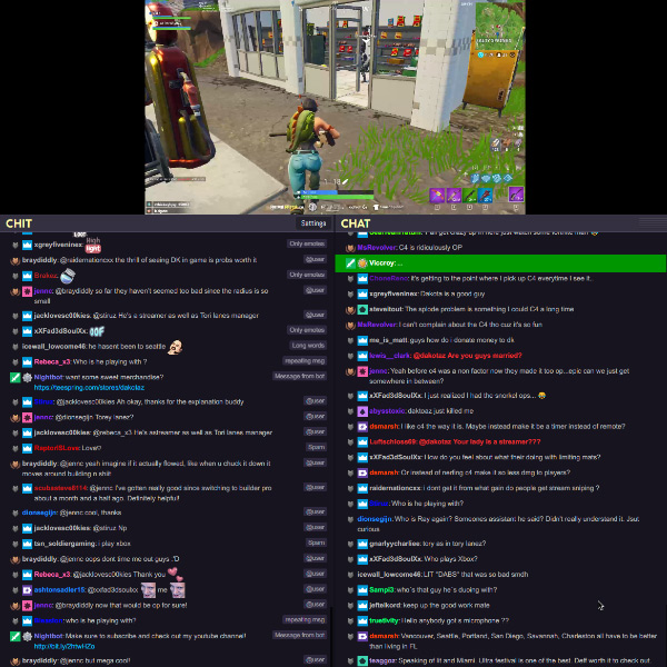 ChitChat - Twitch chat filter